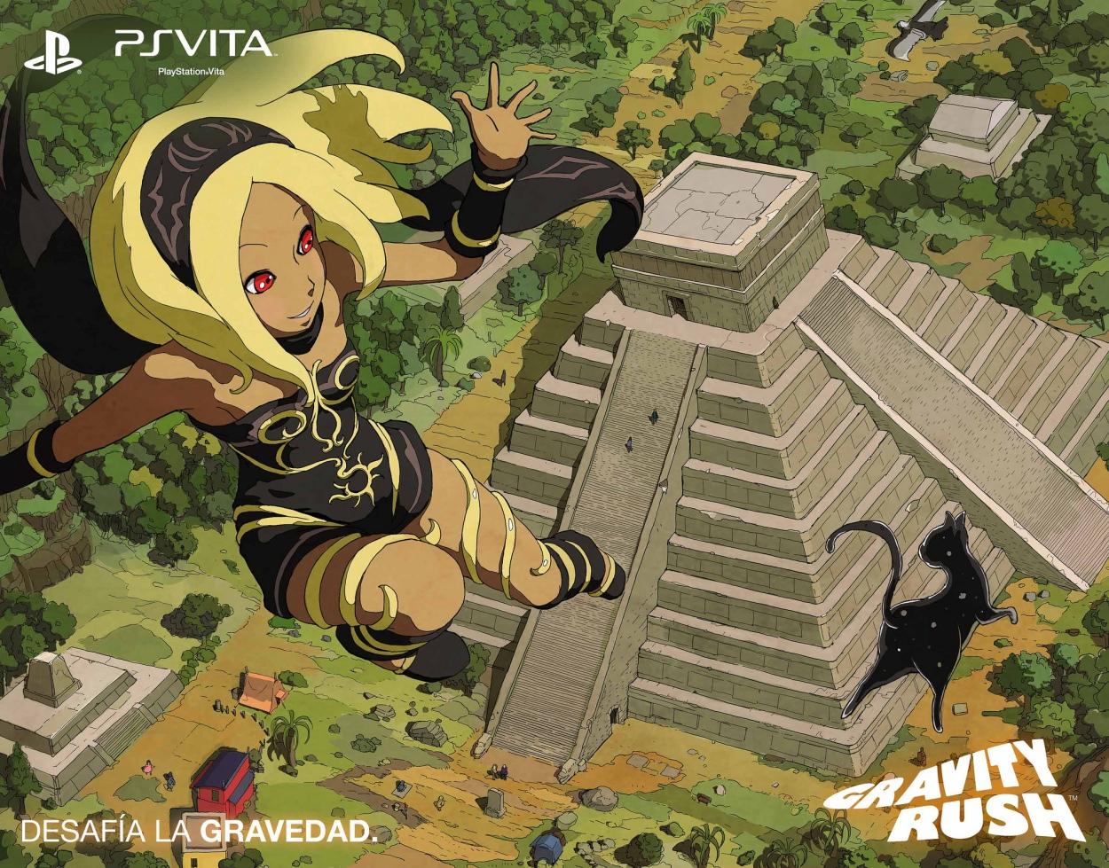 Arte de Gravity Rush exclusivo para México