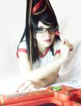 bayonetta_cosplay_by_amaterasumikami-d4i41o3
