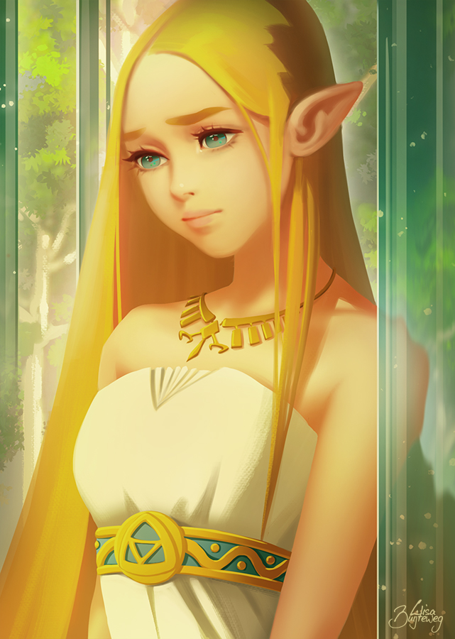 __princess_zelda_the_legend_of_zelda_and_the_legend_of_zelda_breath_of_the_wild_drawn_by_lisa_buijteweg__996c042e82445c7990a3e065defb2be6
